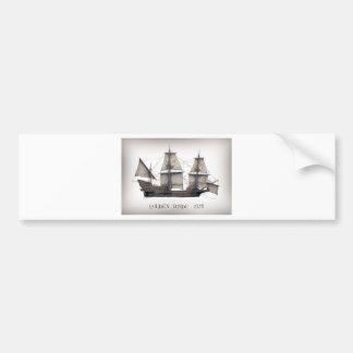 Adesivo Para Carro Navio de Hinde do ouro 1578