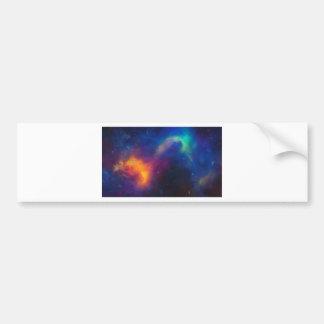 Adesivo Para Carro Nebulla abstrato com a nuvem cósmica galáctica 24