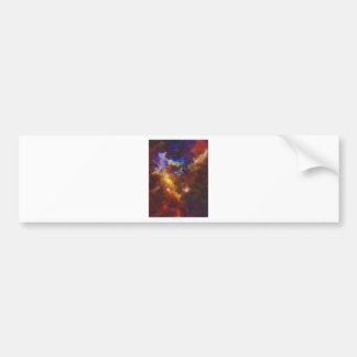 Adesivo Para Carro Nebulla abstrato com a nuvem cósmica galáctica 37