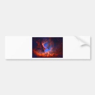 Adesivo Para Carro Nebulosa galáctica abstrata com nuvem cósmica