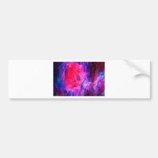 Adesivo Para Carro Nebulosa galáctica abstrata com nuvem cósmica 6