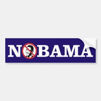Adesivo Para Carro Nenhum Obama Bumpersticker