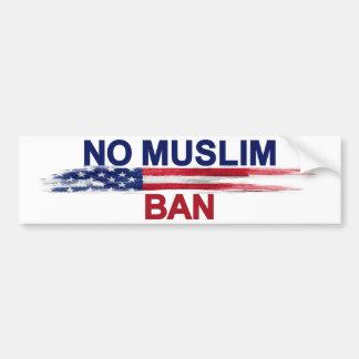 Adesivo Para Carro Nenhuma proibição muçulmana