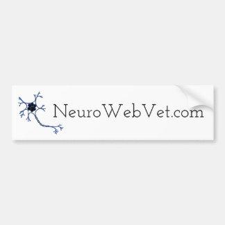 Adesivo Para Carro NeuroWebVet