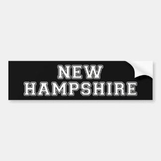 Adesivo Para Carro New Hampshire