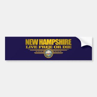 Adesivo Para Carro New Hampshire (SP)