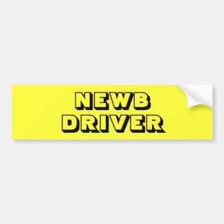 Adesivo Para Carro - NEWB - autocolante no vidro traseiro novo