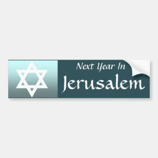 Adesivo Para Carro No próximo ano em Jerusalem