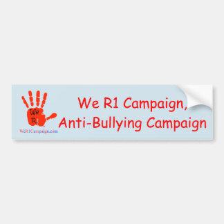 Adesivo Para Carro Nós R1 campanha, campanha Anti-Tiranizando