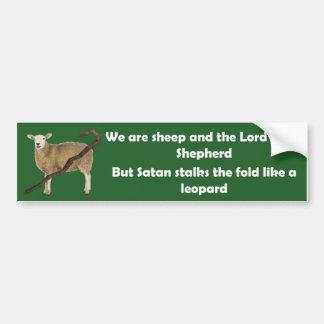 Adesivo Para Carro Nós somos carneiros