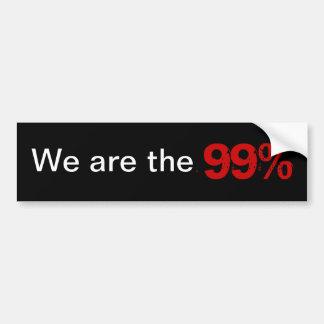 Adesivo Para Carro Nós somos os 99%