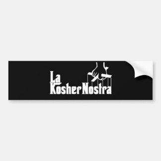 Adesivo Para Carro Nostra Kosher