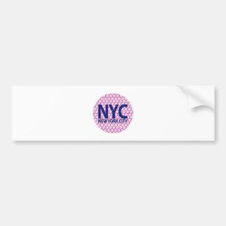 Adesivo Para Carro Nova Iorque NYC