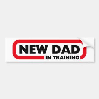 Adesivo Para Carro Novo papai no treinamento - autocolante no vidro