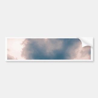 Adesivo Para Carro Nuvem dada forma coração