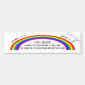 Adesivo Para Carro O arco-íris do deus