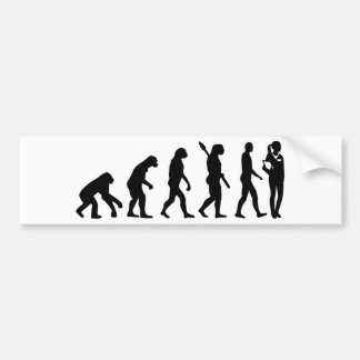 Adesivo Para Carro O assistente do doutor da evolução