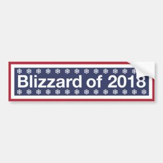 Adesivo Para Carro O blizzard de 2018