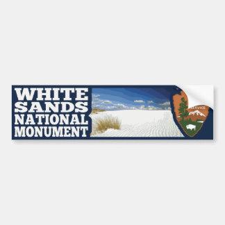 Adesivo Para Carro O branco lixa o monumento nacional