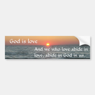Adesivo Para Carro O deus é amor