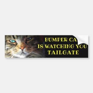 Adesivo Para Carro O gato abundante está olhando a BAGAGEIRA 41 Meme