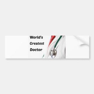 Adesivo Para Carro O grande doutor Projeto do mundo