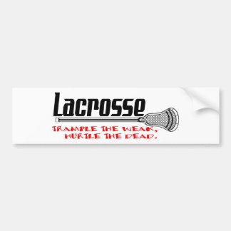 Adesivo Para Carro O Lacrosse Smack o autocolante no vidro traseiro