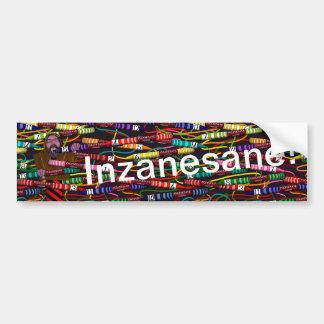 Adesivo Para Carro O pastel de Inzanesane