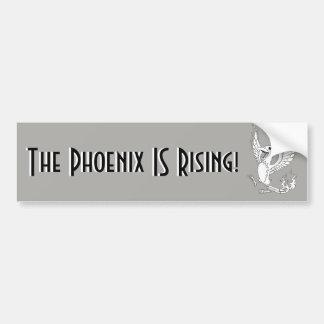 Adesivo Para Carro O Phoenix É autocolante no vidro traseiro de