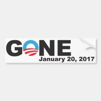 Adesivo Para Carro Obama ido, 2017