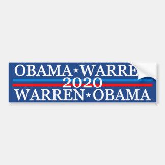 Adesivo Para Carro Obama Warren 2016