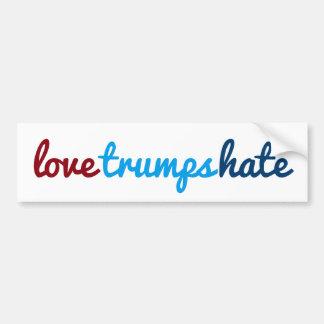 Adesivo Para Carro ódio dos trunfos do amor