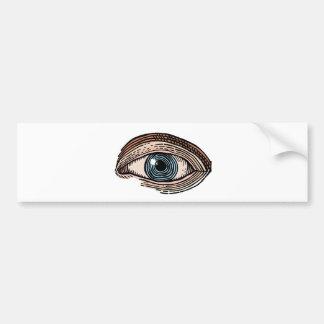 Adesivo Para Carro Olho do providência (transparente)