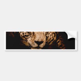 Adesivo Para Carro olhos de desengaço da água do jaguar