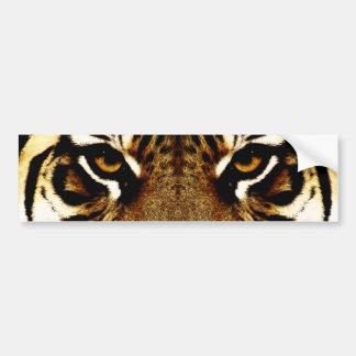 Adesivo Para Carro Olhos de um tigre