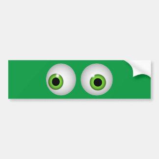 Adesivo Para Carro Olhos verdes