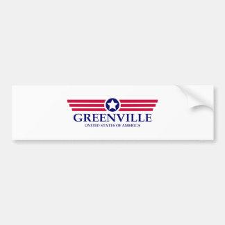 Adesivo Para Carro Orgulho de Greenville NC