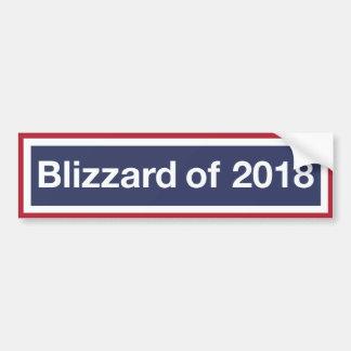 Adesivo Para Carro Os blizzard são feitos dos flocos de neve