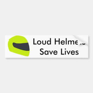 Adesivo Para Carro Os capacetes altos salvar vidas