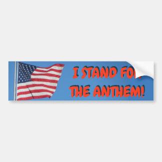 Adesivo Para Carro Os Estados Unidos que eu represento a bandeira do