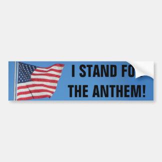 Adesivo Para Carro Os EUA embandeiram-me representam o hino nacional