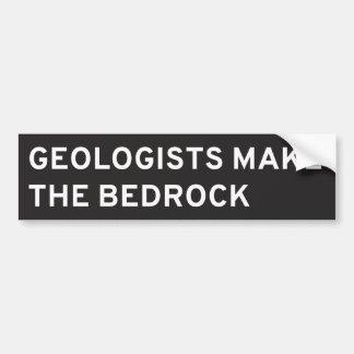 Adesivo Para Carro Os geólogos fazem a terra firme