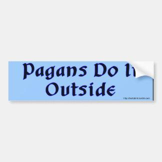 Adesivo Para Carro Os Pagans fazem-no autocolante no vidro traseiro