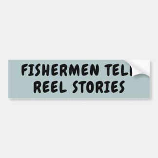 Adesivo Para Carro Os pescadores dizem a chalaça das HISTÓRIAS do