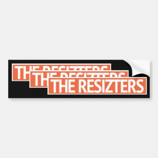 Adesivo Para Carro Os RESIZTERS - Autocolante no vidro traseiro