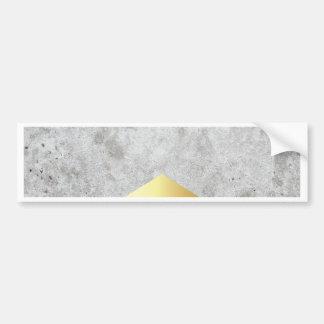 Adesivo Para Carro Ouro concreto #372 da seta