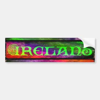 Adesivo Para Carro País de irlandês bordador, autocolante, arco-íris,