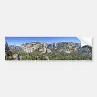 Adesivo Para Carro Panorama 3 do vale de Yosemite - Yosemite