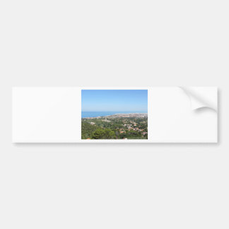 Adesivo Para Carro Panorama aéreo espectacular da cidade de Livorno