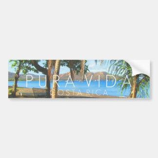 Adesivo Para Carro Pára-choque de Playas del Coco Pura Vida Costa